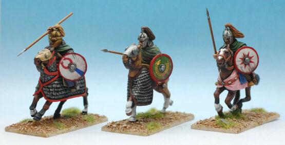 Gothen Adelige Kavallerie auf gepanzerten Pferden (3) (Footsore miniatures)-0