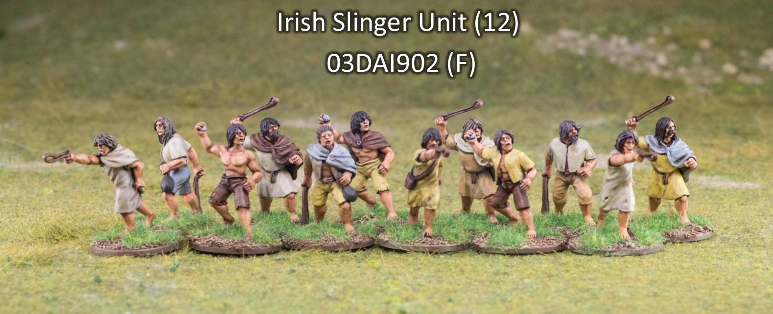Iren/Waliser Bauern mit Schleudern (12) (Footsore miniatures)-0