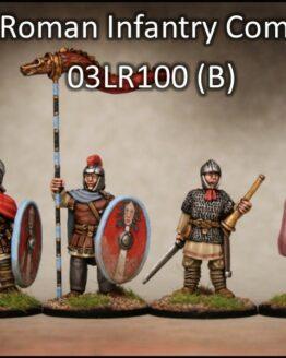 Spätrömer Infanterie Kommandoabteilung (4) (Footsore miniatures)-0