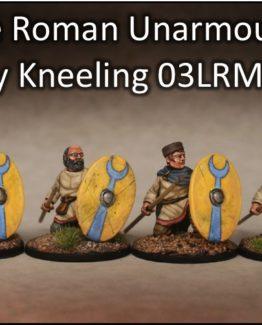 Spätrömer ungerüstete knieende Infanterie (4) (Footsore miniatures)-0