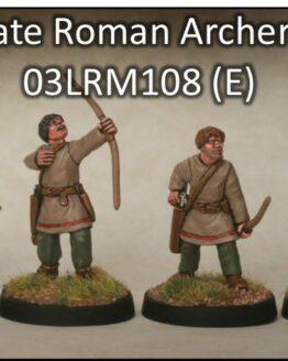 Spätrömer Bogenschützen (8) (Footsore miniatures)-0
