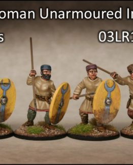 Spätrömer ungerüstete Infanterie mit Kappen (4) (Footsore miniatures)-0