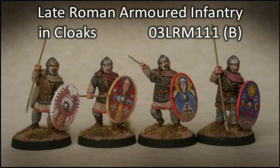 Spätrömer gerüstete Infanterie mit Umhängen (4) (Footsore miniatures)-0