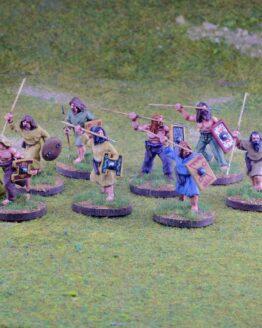 Pikten/Schotten Krieger mit Wurfspeeren (4) (Footsore miniatures)-0