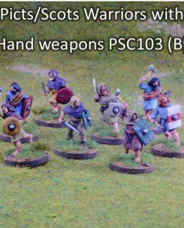 Pikten/Schotten Krieger mit Handwaffen (4) (Footsore miniatures)-0