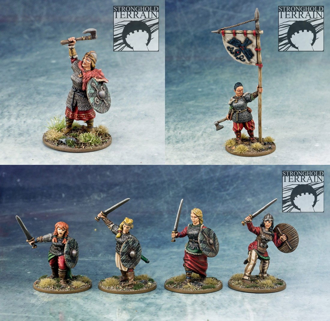 Mercenaries Shieldmaiden