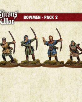 Goth Infantry Command Footsore Miniatures SAGA Dark Ages 03GTH100